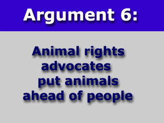 an argument against animal rights